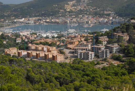 Imagen de archivo de la urbanización Monport, en el Port d'Andratx.