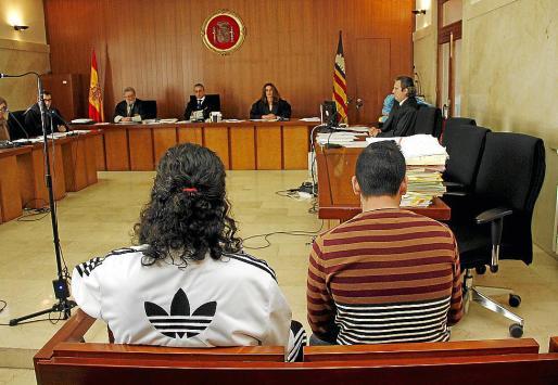 'Monchito' y 'El Pollo', durante el juicio celebrado en la Audiencia Provincial.