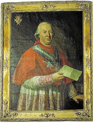 Retrato anónimo del cardenal Despuig.