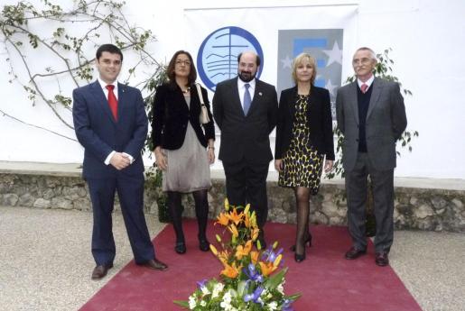Antoni Cabrera, Julia Díaz, Pablo Guerrero, Cecilia Maimó y Javier del Valle.