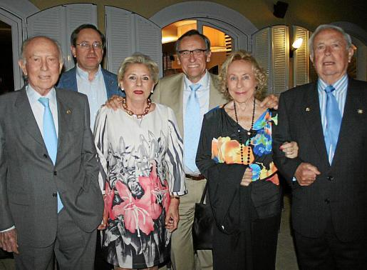Alfonso Ballesteros, Toni Planas, Teresa Martínez, Xim Fortuny, Marisé Fernández Segade y Pedro Pourtau.