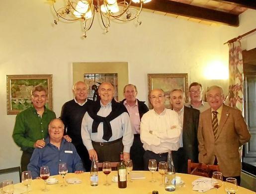 Ramón Pérez, Cristóbal Carrió, Sebastián Rubí, Manolo González, Juan Company, Antonio Asensio, Sebastián Ginart, Jaime Pou y Fernando Mulet.