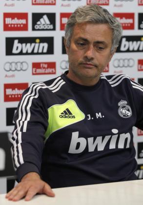 El entrenador del Real Madrid, el portugués José Mourinho.