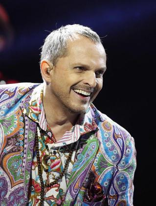 Miguel Bosé, durante un concierto ofrecido el pasado mes de febrero en el Festival Viña del Mar.
