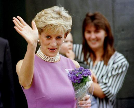 La conocida como 'princesa del pueblo', Diana de Gales.