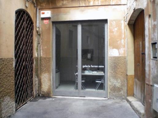 Imagen del exterior de la galería.