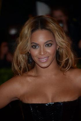 Beyonce, durante la gala celebrada en el MET de Nueva York.