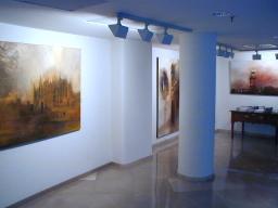La galería cuenta con un espacio de mil metros cuadrados.