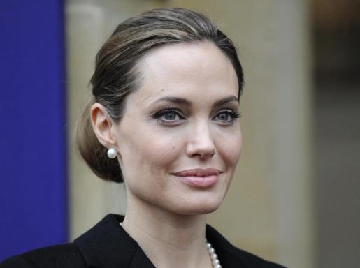 La actriz y activista estadounidense Angelina Jolie.
