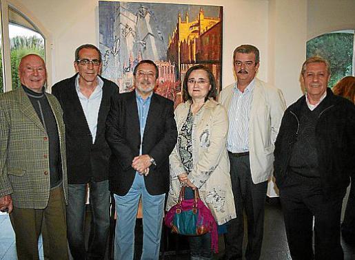 Onofre Prohens, Emilio Maraver, Juan Manuel Pastor, Sheila Smith, Teodoro Pou y Basilio Escudero.