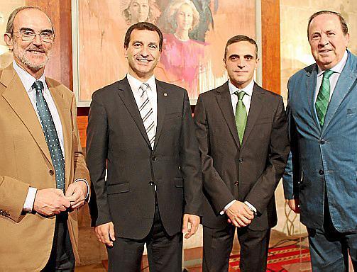 Antonio Diéguez, Gabriel Company, José Vicente Marí y José María Rodríguez.