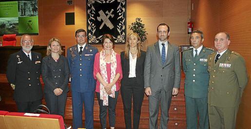 José María Lavilla, Nuria Riera, Victor Manuel Navarro, Margalida Durán, Teresa Palmer, José Ramón Bauzá, Basilio Sánchez Rufo y Adolfo Orozco.
