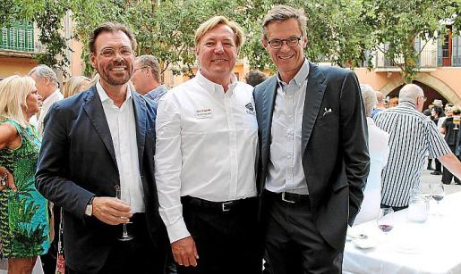 Peter Ekmon, Peter Odlund y Hakam Roos, los propietarios del nuevo establecimiento.