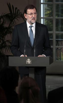 El presidente del Gobierno, Mariano Rajoy, en una image tomada ayer.
