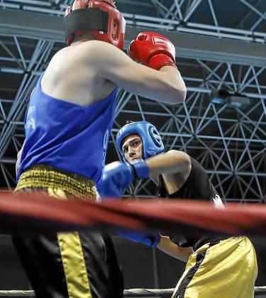 Una imagen de una de las primeras peleas.