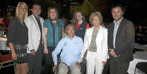 Sira Fiz, José Manuel Ruiz, Malén Durán, Rafael Winckelmann, Clara Gil, Cristina Martín y Javier Ureña.