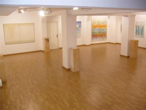 Sala central de la Galeria Nuu Espai d'Art Contemporani.