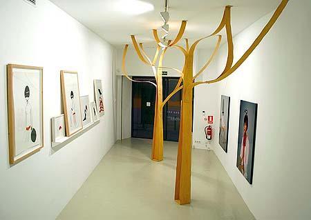 """Durante el verano, la galería organiza un ciclo de proyecciones de videoarte titulado """"El video en el tejado"""""""