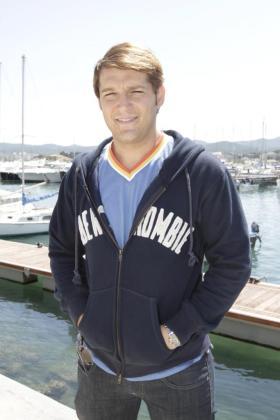 Manu Tenorio, durante una visita a Ibiza.