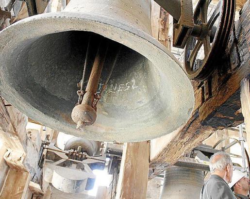 Una de las campanas de la Seu en una imagen de archivo.