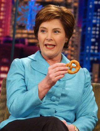 Laura Bush, esposa del ex presidente de los Estados Unidos, George Bush.