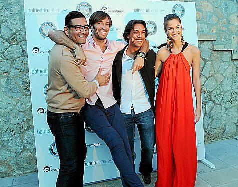 Luis de Alarcón, Xisco Llompart, José Darder y Ana Garau.