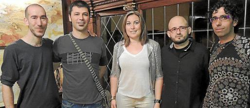 Toni Miquel Morro, Tomeu Coll, Pepi González, Joan Oliver y Coll Bernat.