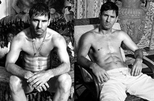 Messi se ha convertido en imagen de Dolce & Gabbana.