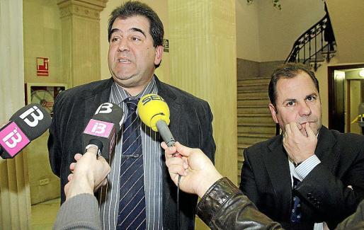 Los representantes de Anged, Francisco García, y de Asedas, Josep Mallol.
