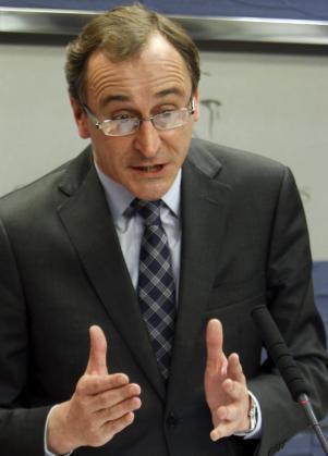 El portavoz parlamentario del PP, Alfonso Alonso.