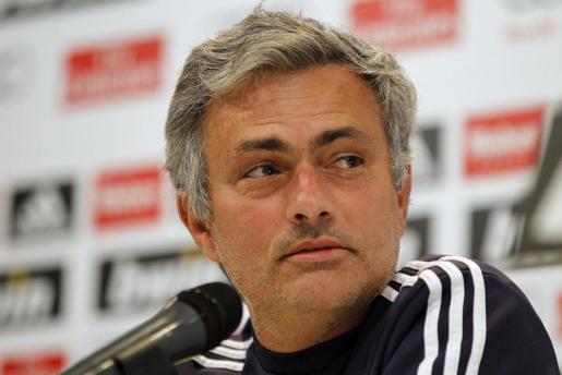 El entrenador del Real Madrid, el portugués José Mourinho, en una imagen de archivo.