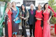 Noche flamenca para la gala benéfica de RANA en el Palas Atenea.