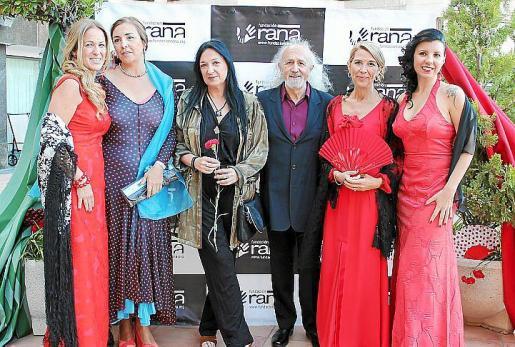 Patricia Moliné, Gema Izquierdo, Puy Oria, Montxo Armendáriz, Elisabeth Homberg y Beatriz Benavente.