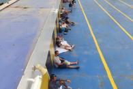 Retrasos y nervios en el puerto de Palma