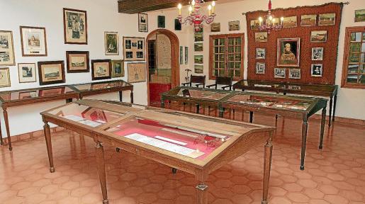Imagen de una de las estancias del museo dedicado al Pare Serra en Petra.
