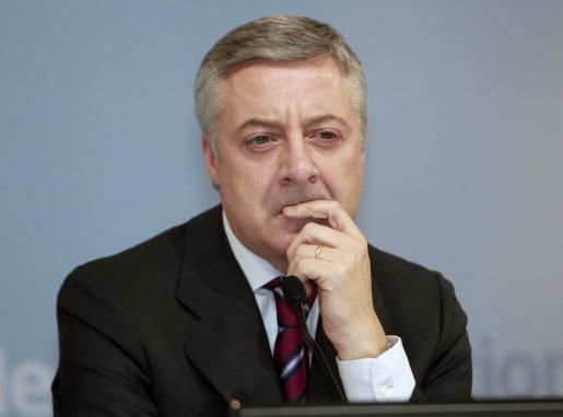 Fotografía de archivo (20/11/2011, en Madrid) del exministro de Fomento y exportavoz del Gobierno, José Blanco.