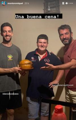 David Broncano, Miquel Montoro y Arturo Valls,