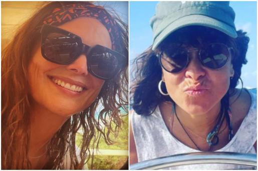 Vanesa Martín y Mónica Carrillo, juntas en Formentera