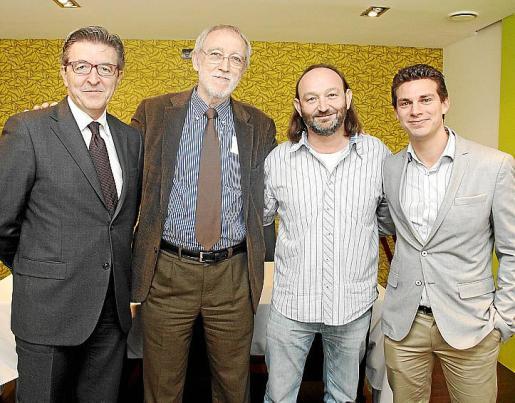José Francisco Ibañez, Jordi Folgado, Moncho Ferrer y José María Gilgado.