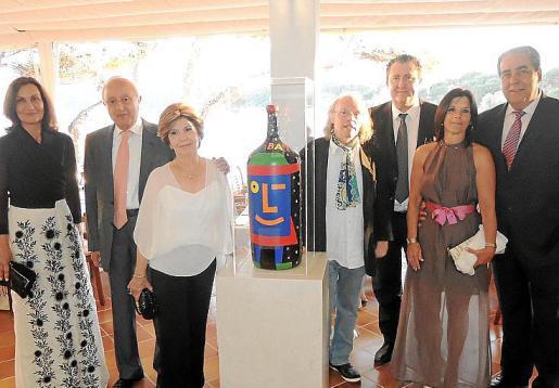 Tonina Bestard, Sebastià Rubí, Maria Llaneras, Gustavo Peñalver, Ramón Servalls, Lina Enrich y Mateu Rosselló.