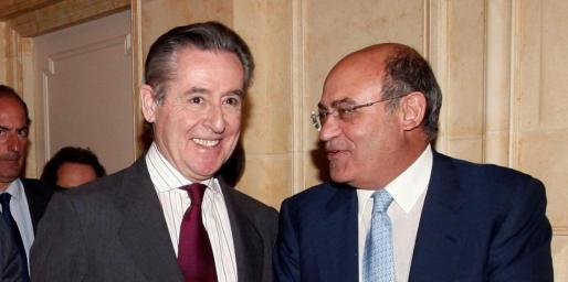 Blesa y Díaz Ferrán, en una imagen de archivo.