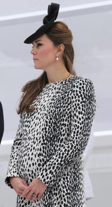 La princesa Catalina afronta la recta final de su embarazo.