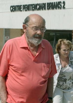 El ex responsable del Palau de la Música Fèlix Millet, acompañado de su mujer Marta Vallés, en una imagen de archivo.