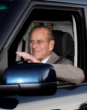 El príncipe Felipe, esposo de la reina Isabel II de Inglaterra.