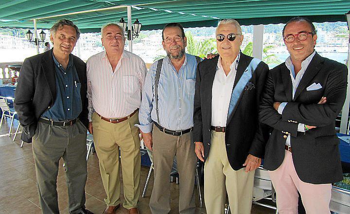 Homenaje a Javier Mayol del Ferrocarril de Sóller