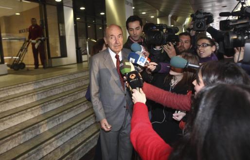 El abogado de la Infanta, Miquel Roca.