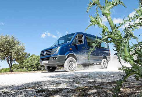 Volkswagen Vehículos Comerciales ofrece una oferta 4Motion muy completa en todos los segmentos.