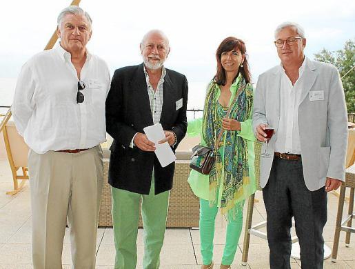 Toni Buades, Paco Berga, Teresa Castellá y José Luis Roses.