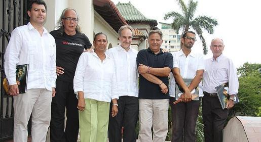 Antonio Polidura, Xim Jurado, Nieves Argelia Alemany, Juan Francisco Montalban, Vicenç Ochoa, Pablo Platas y Jesús Chacón.
