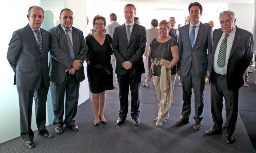 Esteban Mas, Mohammed Harit, Gillian Brion, Andrew Gwatkin, Margalida Rosselló, César Pacheco y Pere A Serra.